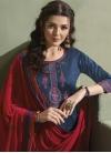 Embroidered Work Designer Patiala Salwar Suit - 1
