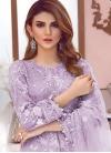 Net Pant Style Salwar Kameez - 1