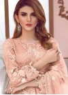 Net Pant Style Designer Salwar Kameez - 1