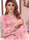 Net Pant Style Salwar Kameez For Festival - 1