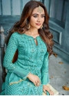 Faux Georgette Pant Style Pakistani Salwar Kameez - 1