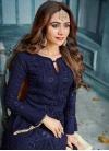 Faux Georgette Pant Style Pakistani Suit - 1