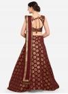 Woven Work Trendy A Line Lehenga Choli - 1