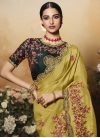 Satin Silk Designer Contemporary Saree - 2