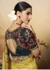 Satin Silk Designer Contemporary Saree - 1