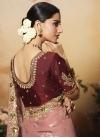 Silk Georgette Contemporary Style Saree - 1