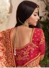 Embroidered Work Trendy Saree - 1