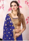 Faux Georgette Beads Work Traditional Designer Saree - 1
