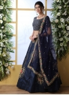 Embroidered Work Trendy Lehenga - 1