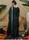 Palazzo Straight Salwar Kameez For Ceremonial - 1