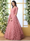 Embroidered Work Floor Length Gown - 1