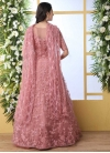 Embroidered Work Floor Length Gown - 2