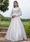 Cotton Floor Length Gown For Festival - 1