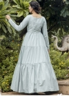 Floor Length Trendy Gown - 2