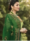 Drashti Dhami Satin Georgette Pakistani Straight Salwar Suit For Ceremonial - 1