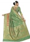 Thread Work Contemporary Style Saree - 1