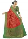 Banarasi Silk Thread Work Classic Saree - 2