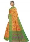 Banarasi Silk Designer Contemporary Style Saree For Casual - 2