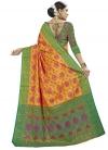 Banarasi Silk Designer Contemporary Style Saree For Casual - 1