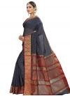 Banarasi Silk Contemporary Style Saree - 2