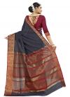 Banarasi Silk Contemporary Style Saree - 1
