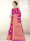 Thread Work Designer Contemporary Saree - 1