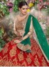 Green and Red Lehenga Choli - 2