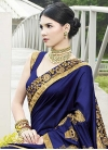 Satin Georgette Traditional Saree For Ceremonial - 1