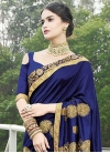 Satin Georgette Traditional Saree For Ceremonial - 2