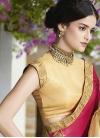 Embroidered Work Designer Contemporary Saree - 1