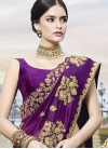Embroidered Work Traditional Designer Saree For Ceremonial - 1
