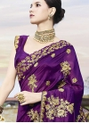 Embroidered Work Traditional Designer Saree For Ceremonial - 2