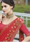 Embroidered Work Silk Georgette Contemporary Style Saree - 2