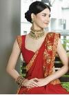 Faux Georgette Designer Traditional Saree For Festival - 1