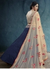 Silk Embroidered Work Trendy A Line Lehenga Choli - 2