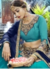 Art Silk Trendy Lehenga Choli - 1