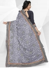 Embroidered Work Designer Contemporary Style Saree - 2