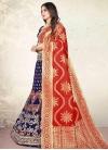 Jacquard Silk Trendy A Line Lehenga Choli - 1