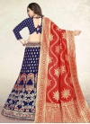 Jacquard Silk Trendy A Line Lehenga Choli - 2