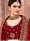 Embroidered Work Trendy Lehenga Choli - 1