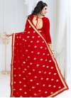 Faux Georgette Embroidered Work Traditional Designer Saree - 2