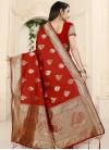 Thread Work Traditional Saree - 2