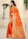Banarasi Silk Designer Contemporary Style Saree - 1