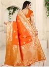 Banarasi Silk Designer Contemporary Style Saree - 2