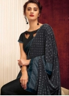 Embroidered Work Lycra Traditional Saree - 1