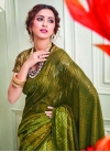 Contemporary Style Saree For Party - 1