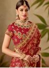 Jacquard Silk Half N Half Trendy Saree - 1