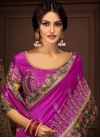 Embroidered Work Contemporary Saree - 1