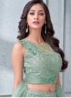 Cutdana Work Net Trendy Designer Lehenga Choli - 1