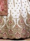 Distinctive Silk Booti Work Designer Classic Lehenga Choli - 1